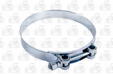 Heavy Duty Hose Clamp Bolt Type 140-148mm