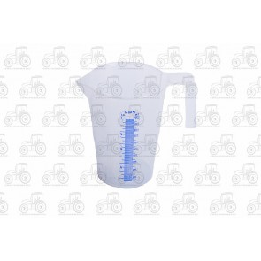 Calibrated Liquid Measure Plastic 1 Litre