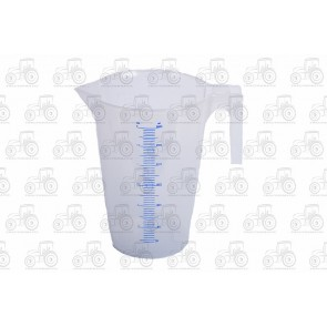 Calibrated Liquid Measure Plastic 3 Litre