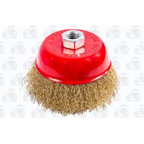 Wire Brush Crimped 100mm
