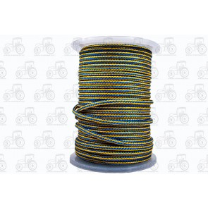 Rope PP Blue/Yellow Braided 8mm 100M Reel