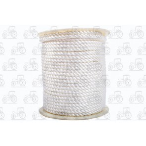 Rope Nylon 3 Strand 8mm 73M Reel