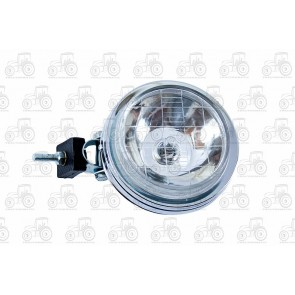 Chrome Driving Lamp 130mm