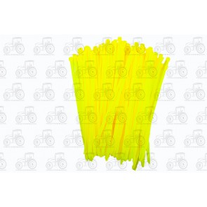 Cable Tie 4.8 X 200mm Yellow (100)
