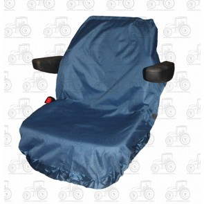 Seat Cover; Tractor Large Blue