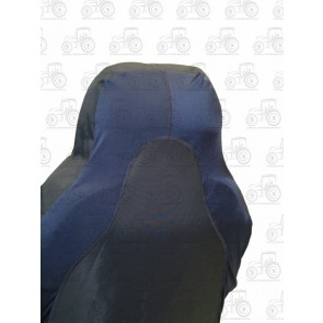 Seat Cover; 3D Stretch Front Black
