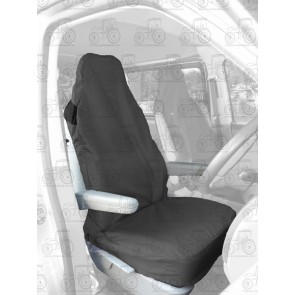 Seat Cover; Air Bag Compatible Black