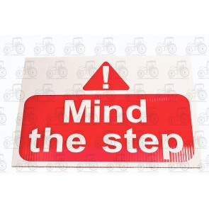 Sign:Mind Step 450 X 300 mm - Plastic