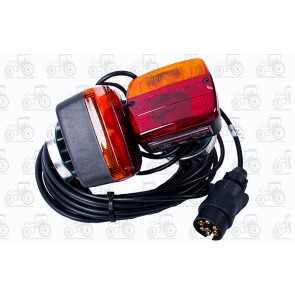Trailer Lamp Set Magnetic 12 Volt