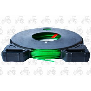 Std Round Strimmer Line 2.0mm Green 62M