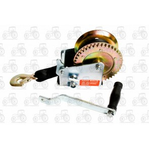 Trailer Winch 1000 lb (450 kg) With Strap