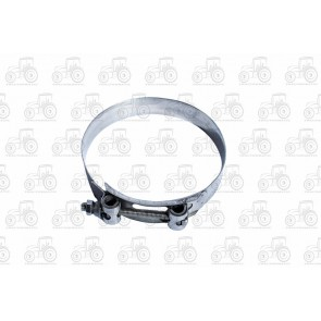 Heavy Duty Hose Clamp Bolt Type 122-130mm, Stainless Steel
