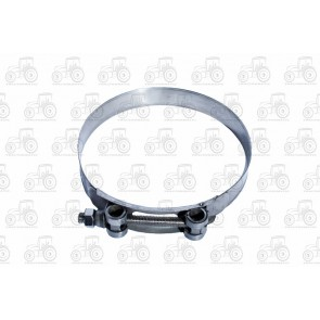 Heavy Duty Hose Clamp Bolt Type 140-148mm, Stainless Steel