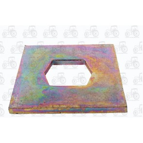 Flail Plate 4 X 4 Inch