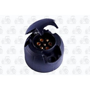 7 Pin Socket - Plastic