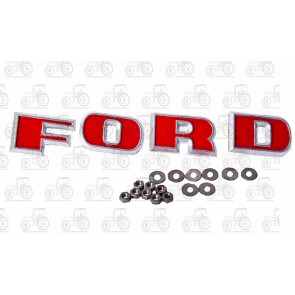 Lettering Metal Ford