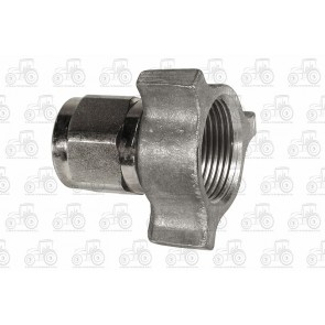 Female Dowty Type Coupling 3/8 Inch Bsp