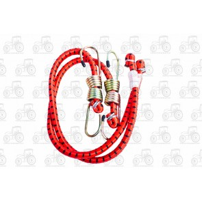 Bungee Cord (2Pc) 1/2 X 24 Inch