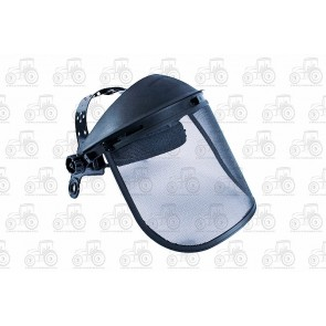 Protective Face Guard With Netted Visor