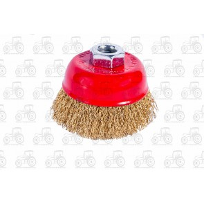 Wire Brush Crimped 75mm