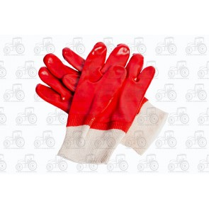 Gloves Knitted Wrist Pvc