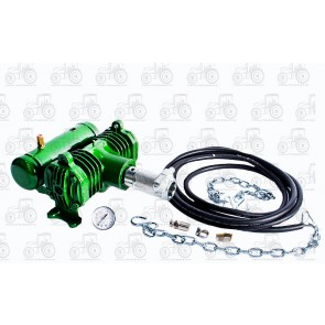 Pto Air Compressor Twin Cylinder 105 Psi