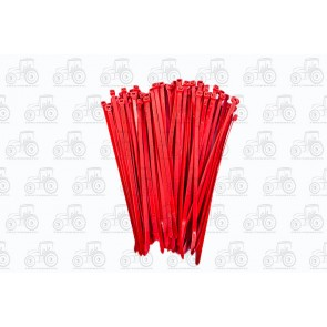 Cable Tie 4.8 X 200mm Red (100)