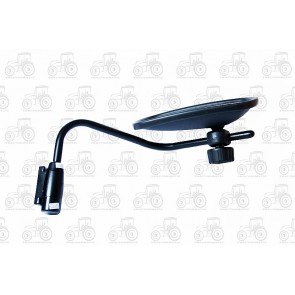 LH Mirror Assembly 205mm H, 335mm W, 62mm Between Holes