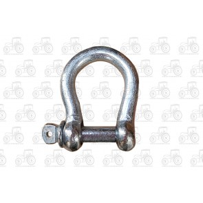 6mm Galvanised Commercial Bow Shackle